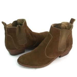 Gap Women's Brown Suede Ankle Boots US Size 6